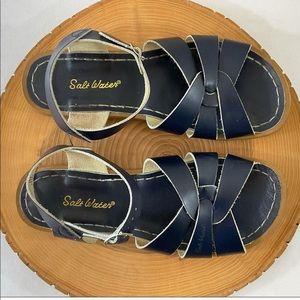 Salt Water navy sandal